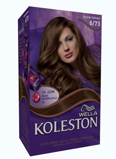 Koleston Koleston Kit Saç Boyası 6/73 Ayışığı Kahvesi Renkli